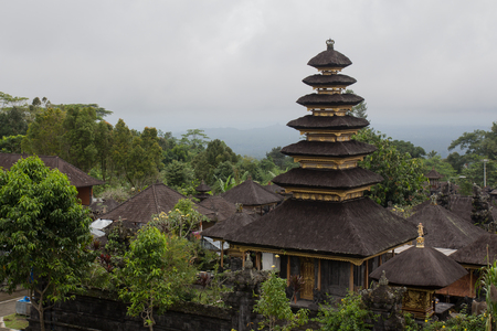 holiest: The Mother Temple of Besakih, or Pura Besakih is the most important, the largest and holiest temple of Hindu religion in Bali