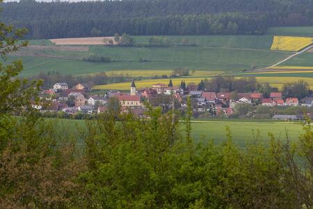 The little village Haselbach next to Schwandorf in Bavaria photo