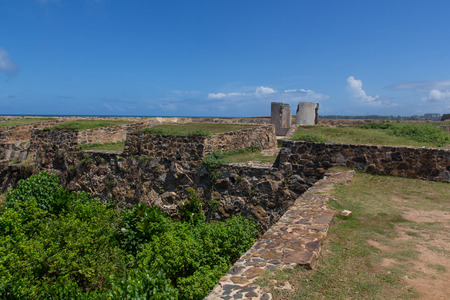 Walking around the Fort of Galle in Sri Lanka photo