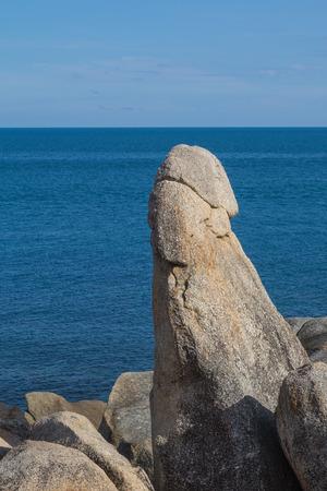 attraktion: The Grandfather Rock in Koh Samui Thailand