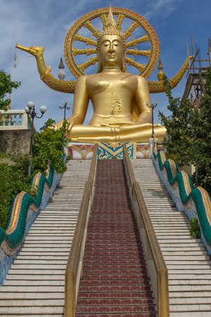 Big Buddha Temple in Koh Samui, Thailand photo