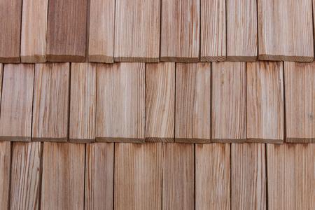 pared de madera, pared de tejas