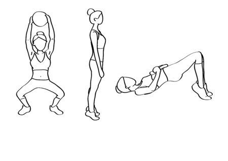 raises: Fitness illustrations