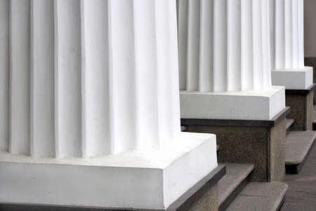 3 つの古典的な白ギリシャ列行