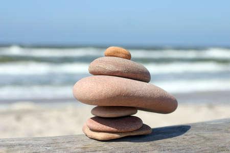 小石石の分散、お互いにクローズ アップ画像
