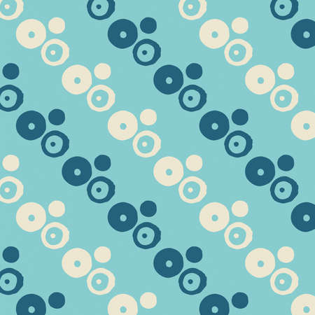 Geometric abstract pastel dotted blue colored pattern, blue and gray colors background, minimalist symmetrical texture
