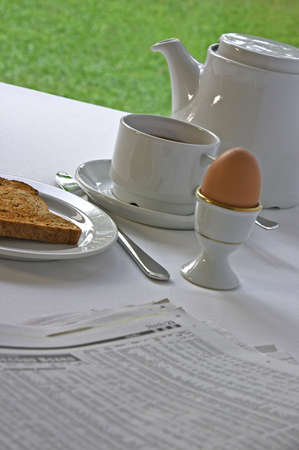 business news: Catching Up On Business News At Breakfast