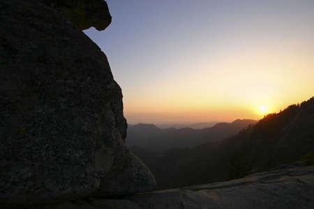 san joaquin valley: Moro Rock, Kings Canyon National Park Stock Photo