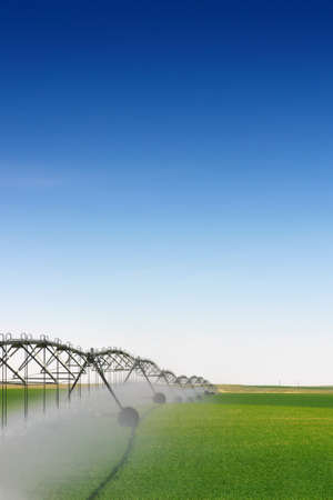 irrigate: Crop Irrigation using the center pivot sprinkler system