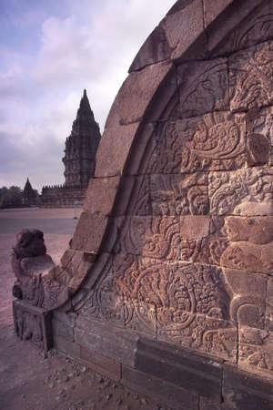 Prambanan Balustrade Bas-relief, Central Java, Indonesia