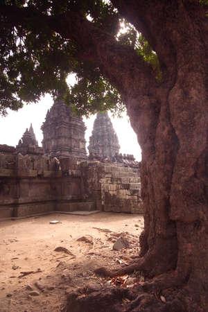 Prambanan Temple Ruins, Central Java, Indonesia