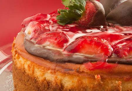 Cheesecake with Strawberry Glaze 1 photo