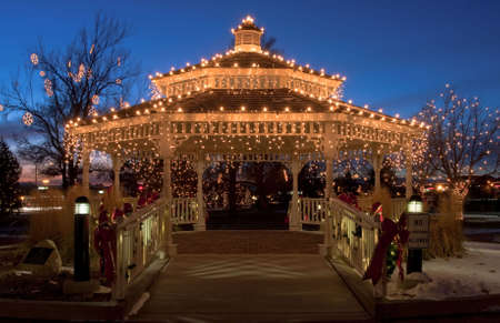 Holiday Gazebo Stock Photo - 7584955