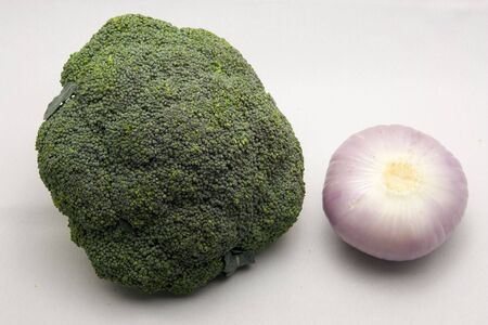 broccoli and onion