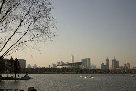 shanghai view Stock Photo - 4666158