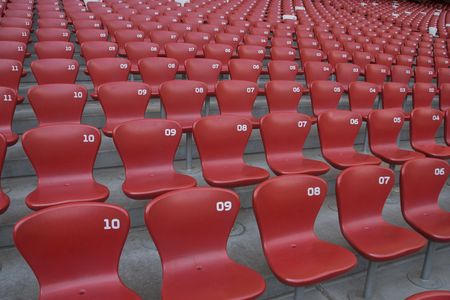 stadium bleachers1 Stock Photo - 4850049