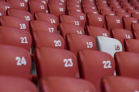 gradas estadio: gradas del estadio