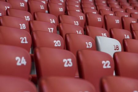 bleachers: stadium bleachers