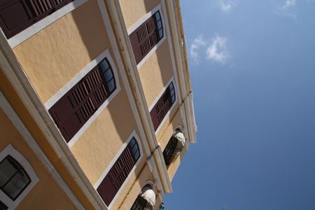 balconies with sky