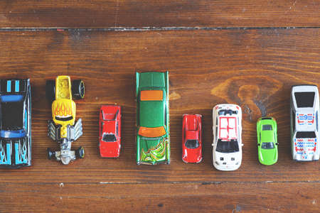 bidding: small collection of cars of various kinds