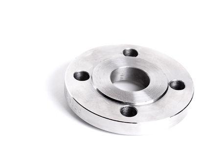 Steel flange 免版税图像 - 48405269