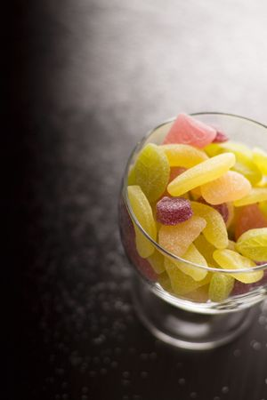 elevenses: sour jelly beans