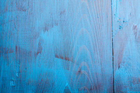 anointed: Blue wooden background