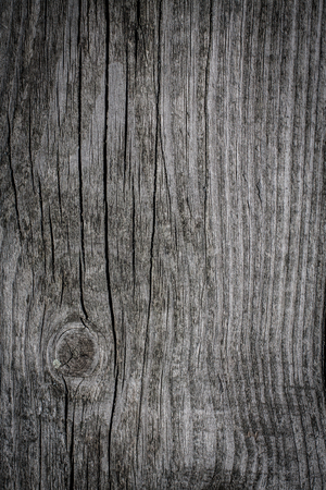 flaw: Old wooden planks background. Stock Photo