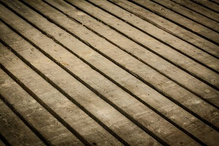 slits: Texture of wood with slits between the boards background. Stock Photo