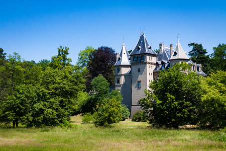 French Renaissance style castle located in Goluchow, Poland.
