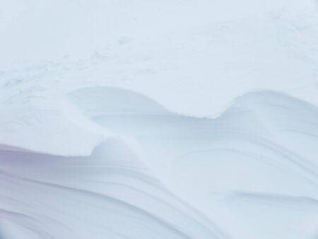 Snow background. Snowdrift. Reklamní fotografie