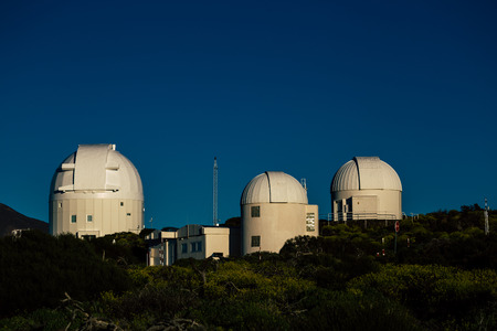 Teide astronomical observatory in Tenerife Island, Spain.