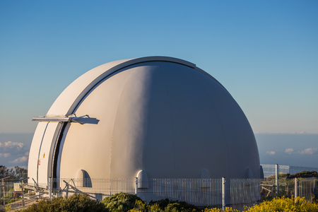 Teide astronomical observatory in Tenerife Island, Spain.