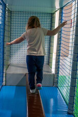 Indoor playground for little kids activity.