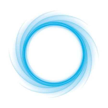 魔法の渦巻波として白に転移の青い円