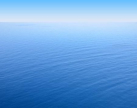 blue sea levels overlooking the horizon