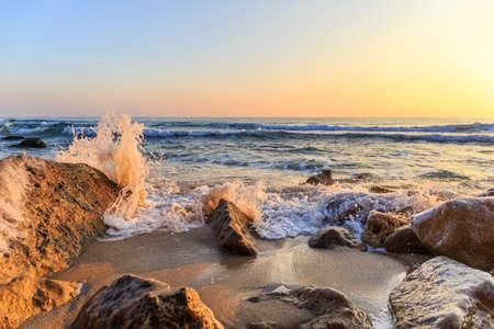 winter sunrise: Winter sunrise on the beach