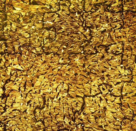 abstract golden metallic texture