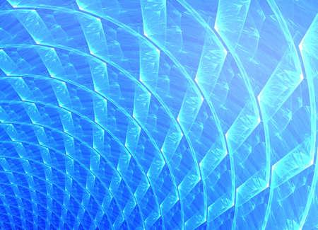 fractal ice background Stock Photo