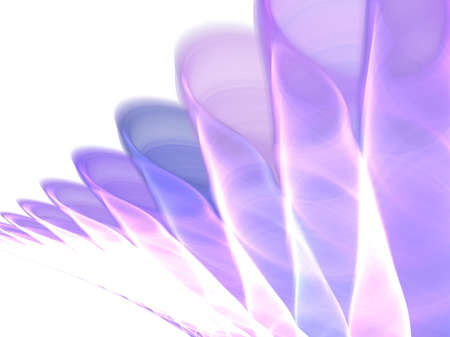 soft fractal flower Stock Photo