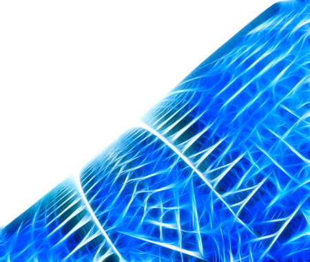 blue fractal background of fractal collection