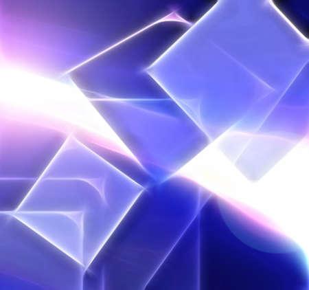 blue fractal background of fractal collection