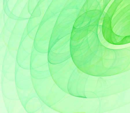 green dynamic illustration  background Stock Photo