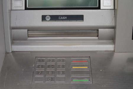 cash machine: Cash machine keypad