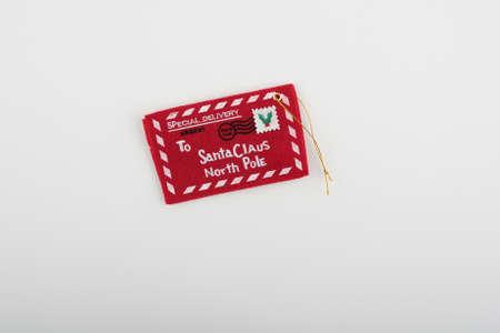 Santa Claus North Pole Label