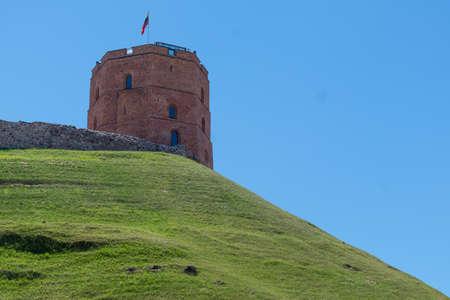 Castle Hill Tower Maden By Bricks 03 July 2015 in Vilnius