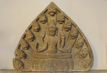 Sculpture of Than Vishnu in Da Nang Cham