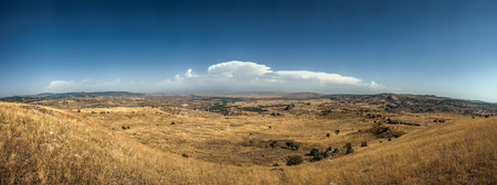 Panoramic View of Hattusa, the capital of the Hittite Empire in Bronze Age. Its ruins lie near modern Bo�azkale, Turkey, within the great loop of the K�z�l�rmak River, UNESCO World Heritage list Reklamní fotografie