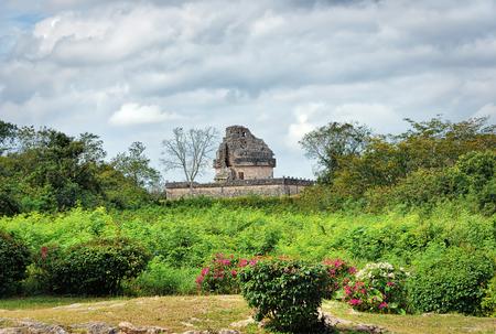 El Caracol, observatory temple, , Chichen Itza, Yucatan District, Mexico