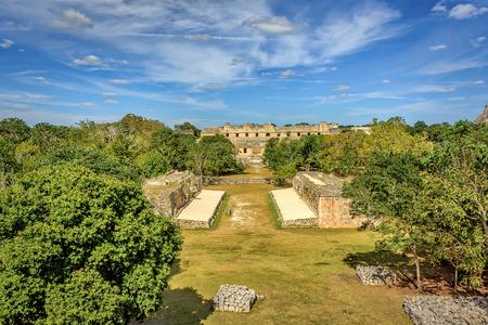 Ancient Mayan city of Uxmal, Puuc Region, Merida, Mexico